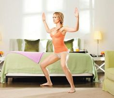 Tone-Anywhere Moves For Your Holiday Travels: Try the Bow to Me to work shoulders, back, butt and legs. #SelfMagazine