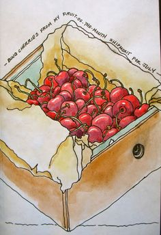 10 sketchbook and color exercises, Pat Howard