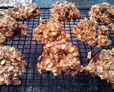 Sugarless Banana Cookies recipe