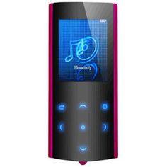 Turbo-X Jive MP4 Player Rose (4GB) 39,90€ #plaisio #mp4