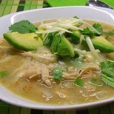 Michelle's Blonde Chicken Chili Allrecipes.com