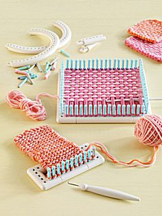Martha Stewart Knitting Loom Patterns | Martha Stewart Crafts™ Knit & Weave Loom Kit (Knitting Looms) at ...
