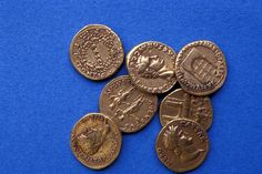 Ancient Gold Coins Used In Pompeii