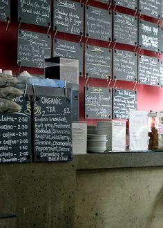 blackboards | menus