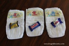 Baby Shower Games: Dirty Diaper Game #diy #ideas