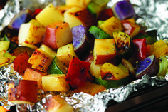 Grilled Potato Bake Recipe from our friends at the U.S Potato Board