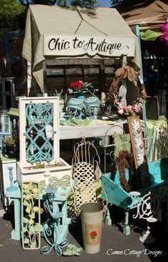 Cameo Cottage Designs: 2013 Spring Fancy Flea Market - Lakeland, Florida Photos Part Two flea market booth display, antique craft ideas, flea market booth names, flea market booths, cottag design, cottage design, cameo cottag, fanci flea, antique shop booths