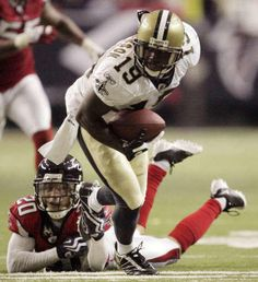 Devery Henderson. Saints Receiver 2004-2012.