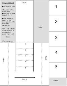 craft, card templates, waterfall card tutorial, card direct, 553711 pixel, waterfal card, waterfall cards, card tutorials, card boxes