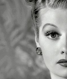 """I'm not funny. What I am is brave."" -Lucille Ball"
