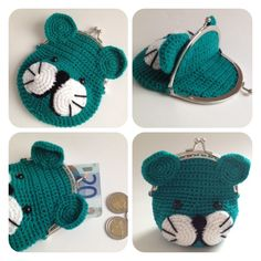 Sweey purse with pic-pac by SweetHandmade Crochet