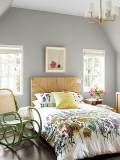 Bedroom Paint Ideas - Color Schemes for Bedrooms - Country Living