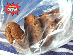 = PROTEIN POW(D)ER !: Banana Bread Protein Cookies