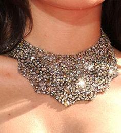 statement necklaces, photographs, bridal jewelri, diamonds, jewelri lover, diamond necklaces, black, mesh