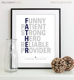 @Мария Дружинина Panagiotopoulos - you should get this for Ted. Fathers Day Gift for Dad Gift Personalized Gift by DallowayPlace