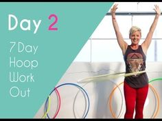 Day2 | Core Workout - 7 Day Hula Hoop Challenge | HOOPLOVERS Hoop Fitness