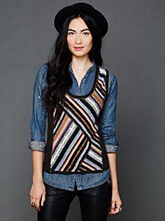 Stripe Vest shop, season, stripe vest, stripe top, marley stripe