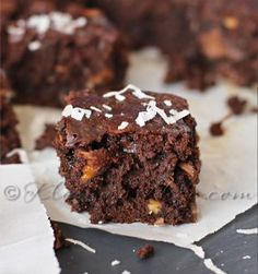 Whether you are looking for a recipe to bring with you to a backyard picnic or a holiday party, these Ooey Gooey Chocolate Coconut Brownies are the perfect fit. This chocolate brownie recipe is decadent and completely delicious.