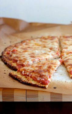 cauliflow crust, pizza crust, crust pizza