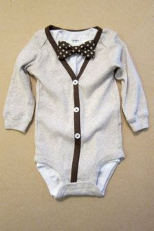 This would make for a great baby shower gift to a nerdy couple!