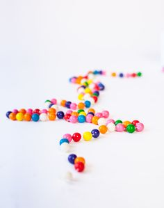 idea, craft, color, bubblegum garland, garlands, diy, christma, bubble gum, parti