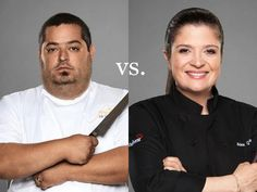Fan Vote: Does Chef Greenspan or Chef Guarnaschelli make a better sandwich? Click-through and cast your vote! #NextIronChef