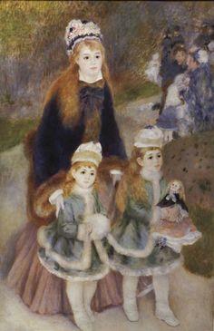 Mother and Children, Renoir.