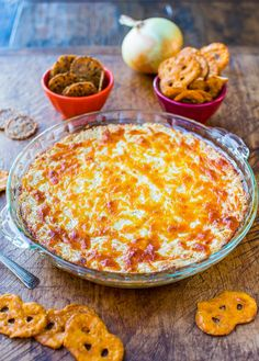 Creamy Baked Double Cheese and Sweet Onion Dip