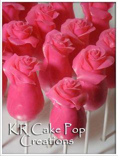 Roses Cake Pops