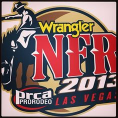 So excited for the National Finals Rodeo! What I'll be watching on tv for 10 days!