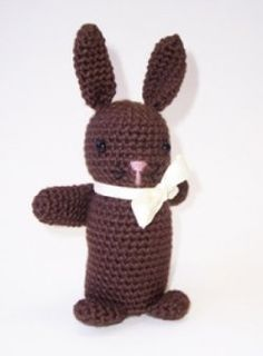 Free Chocolate Easter Bunny Crochet Pattern
