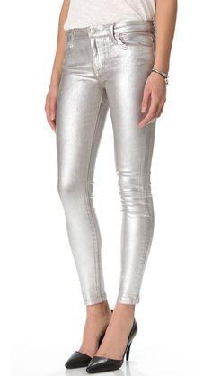 Joe's Jeans Coated Skinny Jeans