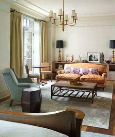 Greenwich Hotel furniture layout