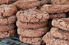 I have been making these cookies ever since my friend Jane told me about them a few years ago.  The recipe comes from Martha Stewart's Cookie Book and I typically bake a double batch of these delicious cookies when my kids request them for their...