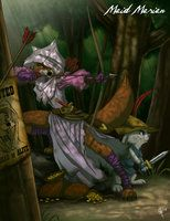 Twisted Princess: Maid Marian by ~jeftoon01 on deviantART