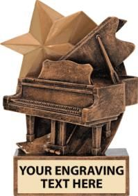 This Unique #Piano #Trophy Sculpture is a Great Way to Award Piano Players. http://www.crownawards.com/StoreFront/CRSTPI.ALL.Trophies.Piano_Sculpture_Trophy.prod
