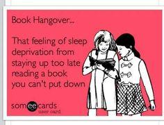 {book hangover}