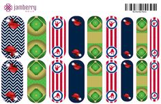Baseball wraps! Cubs and Red Sox colors :)