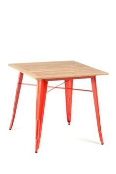 Four Square Table / Teak Top