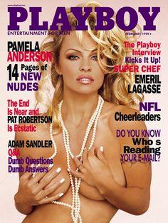 Playboy magazine cover February 1999