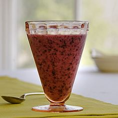 Blueberry-Passion Fruit Smoothie, from Cooking Light