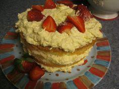 Sugar Free Pineapple Angel Food Cake