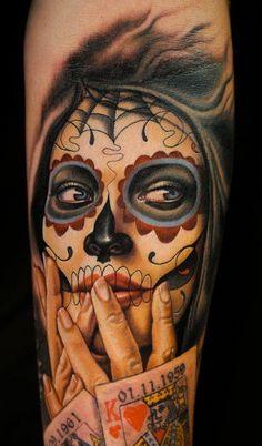 tatuagens de catrinas