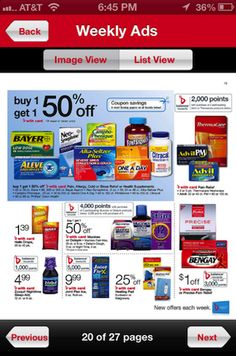 Getting ready for my Walgreens #BalanceRewards shopping trip with the Walgreens mobile app. #CBias