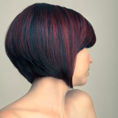 Short A-line Bob~ Hair by Marcie DeHart