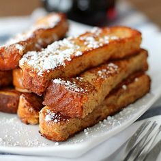 Homemade French Toast Sticks 2