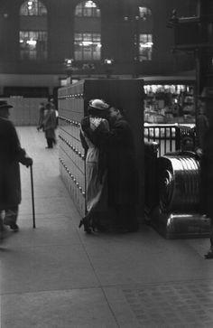 The old Penn Station, New York, 1948. Demolished. Photo: Louis Faurer.
