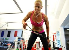 Dara Torres is amazing. Read this Washington Post article on her training regime. This is hard core. Sure, not everyone can or wants to train like she does, but she's proving that age is not an excuse.  http://www.washingtonpost.com/sports/olympics/2012-olympics-dara-torres-pursues-speed-for-the-ages/2012/05/16/gIQAAPF6TU_story.html