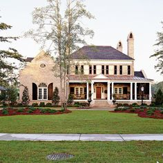 THIS! This is my absolute dream home...for the moment! Abberley Lane - Southern Living Idea Home - 2002. It is DIVINE!