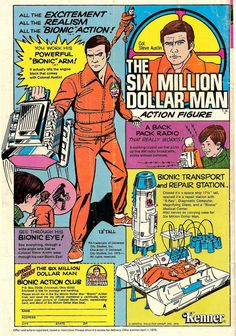 I had this doll and the six million dollar woman to.